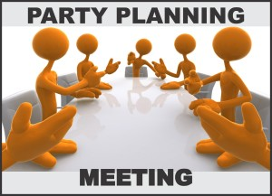 Party Planning Meeting 3